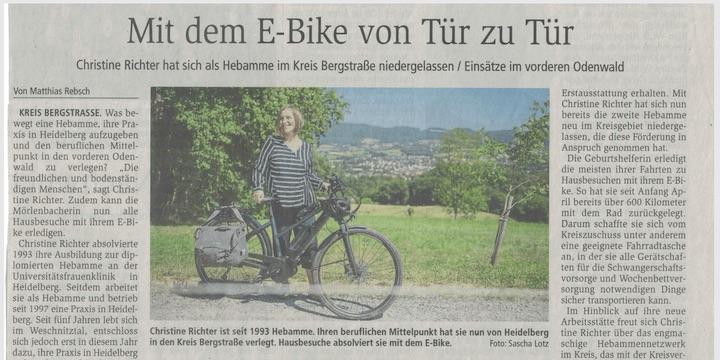 Christine Richter Presseartikel